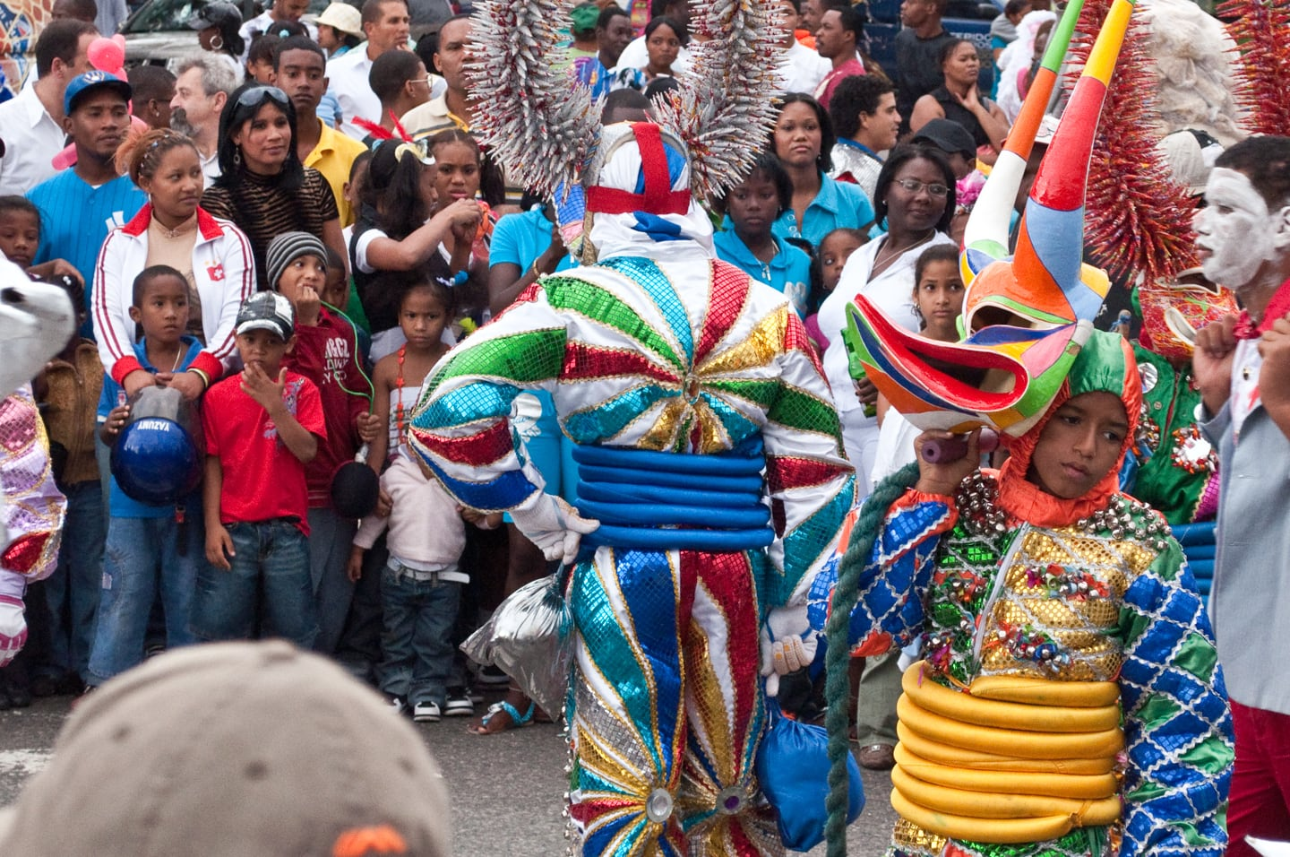 Santo Domingo Dominican Republic Carnival