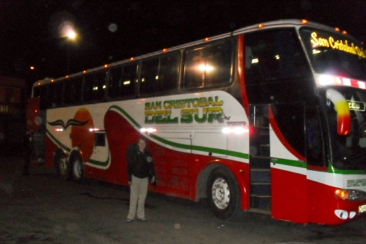 Arequipa to Cuzco by Bus