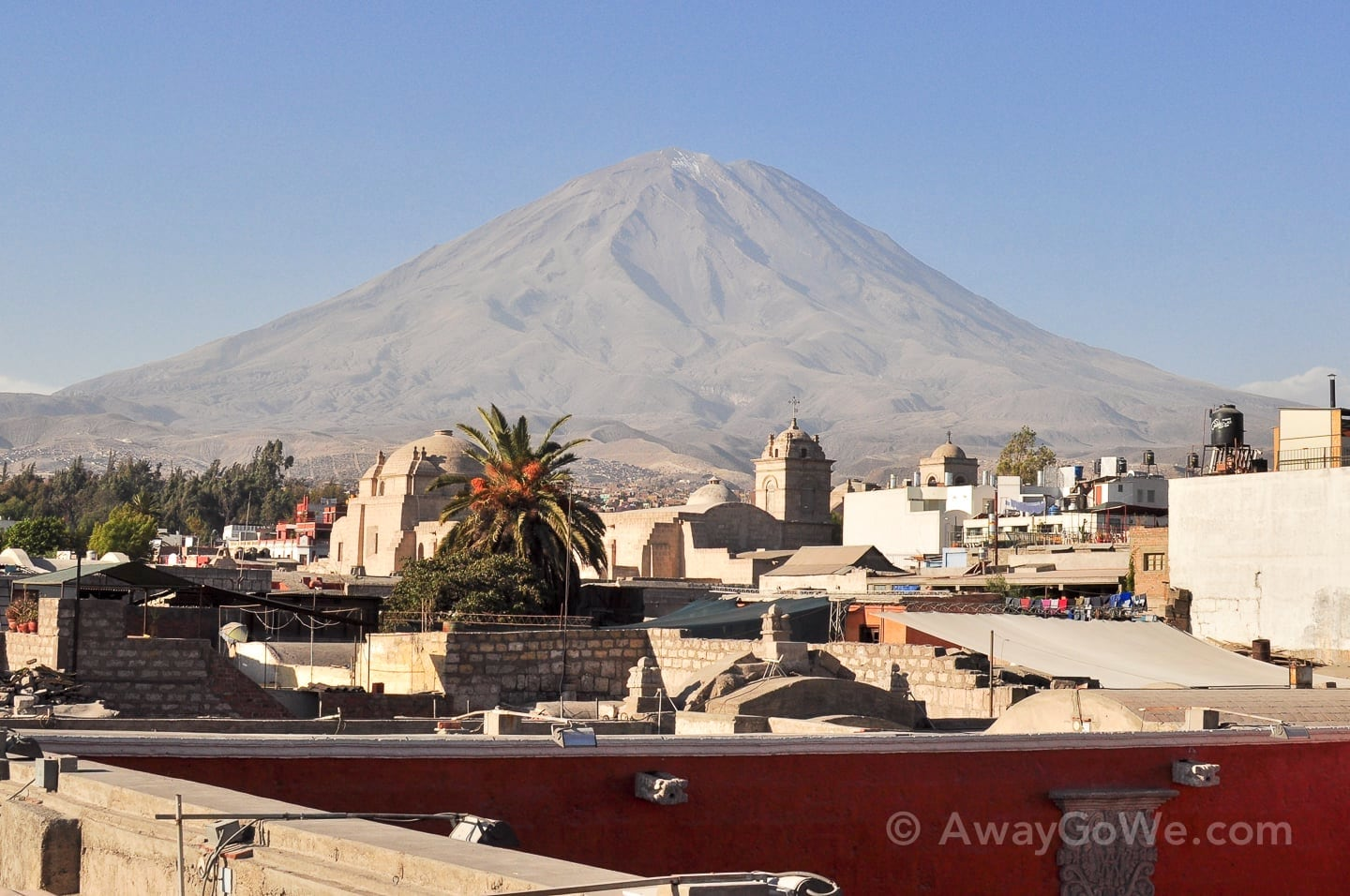 Backpacking Arequipa Peru