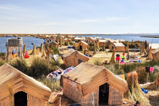 Uros Floating Islands of Lake Titicaca