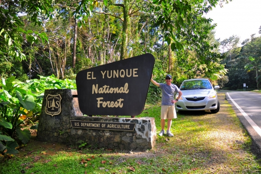 Hiking the Northern Slope of El Yunque National Forest