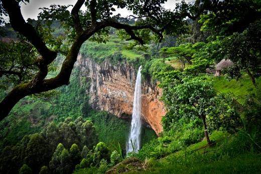 Hiking Sipi Falls