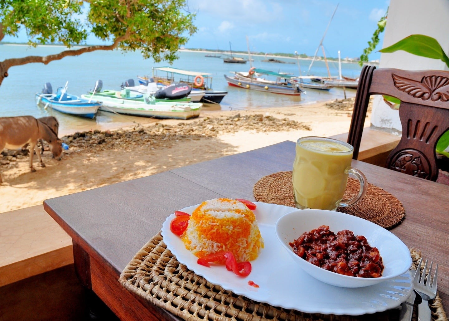 Stop Over Restaurant Shela Lamu