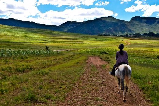 Malealea Lodge & Pony Trekking in Lesotho