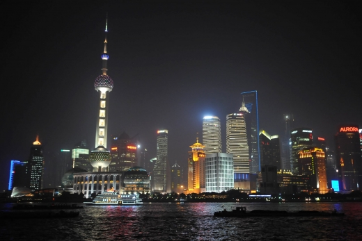 Shanghai: Nanjing Road & Pudong by Night