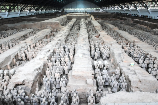 Xian and the Terracotta Warriors