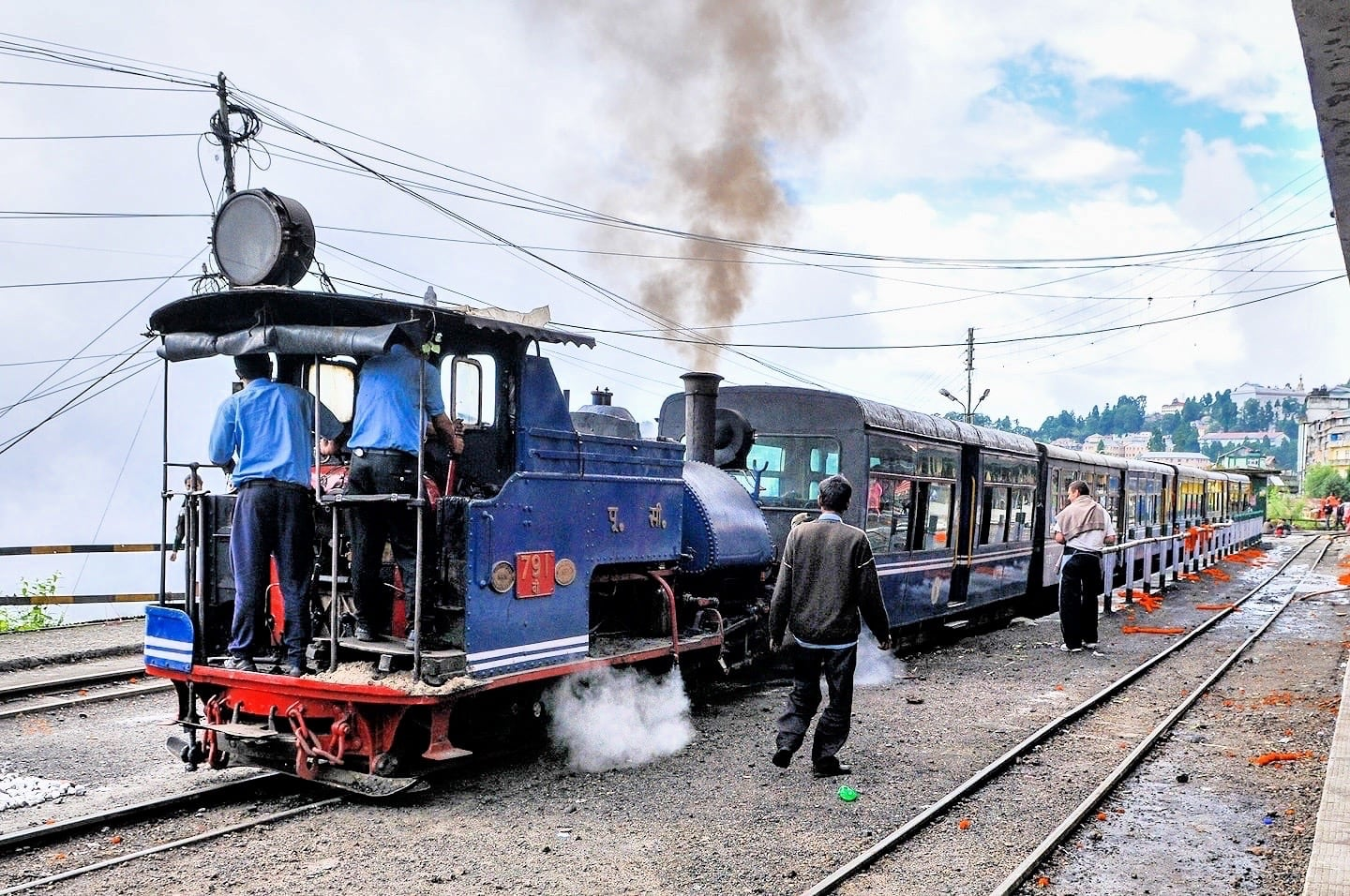 Darjeeling steam locomotive