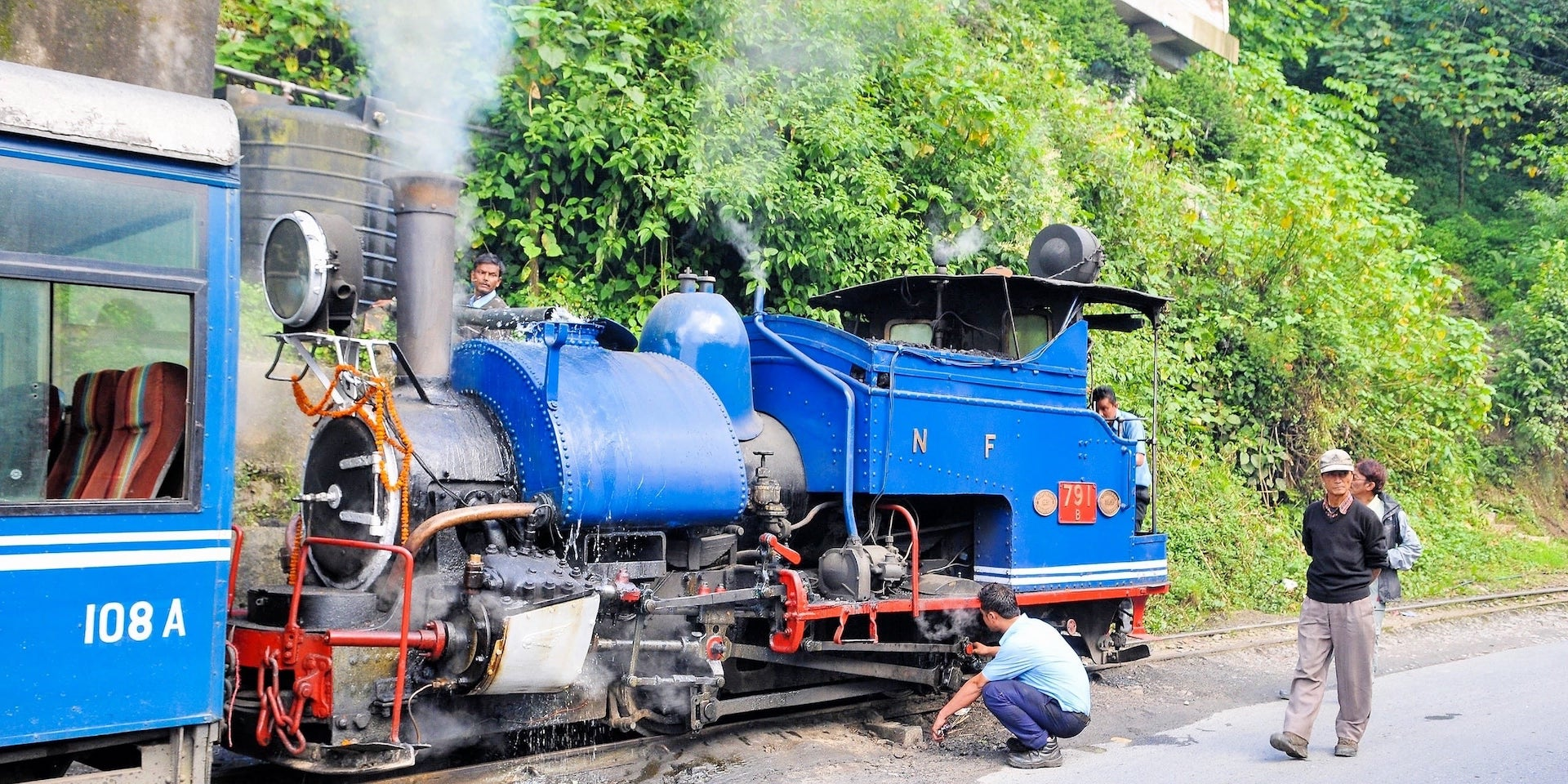 Darjeeling Toy Train maintenance