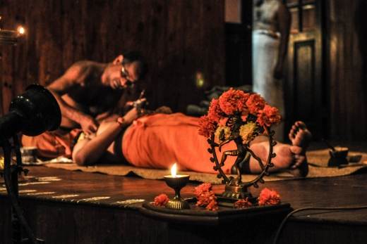 Kathakali Dance Theater in Fort Kochi