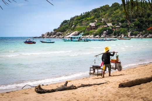 Sairee Village: Koh Tao's Heart of the Action