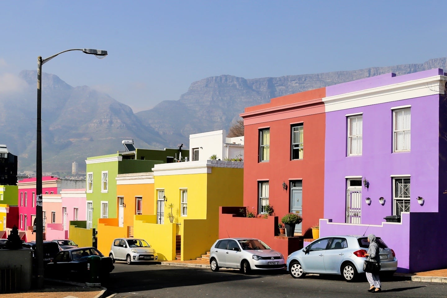 South Africa travel budget colorful houses