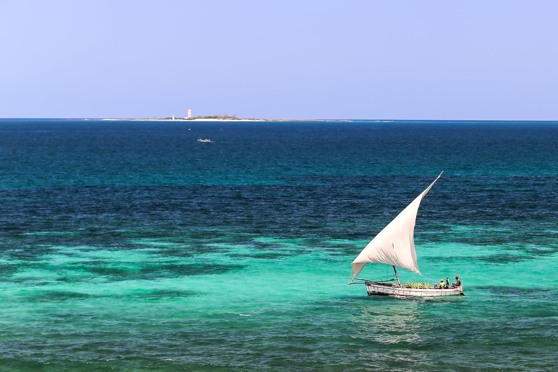 Mozambique Budget Report dhow sailing on the sea