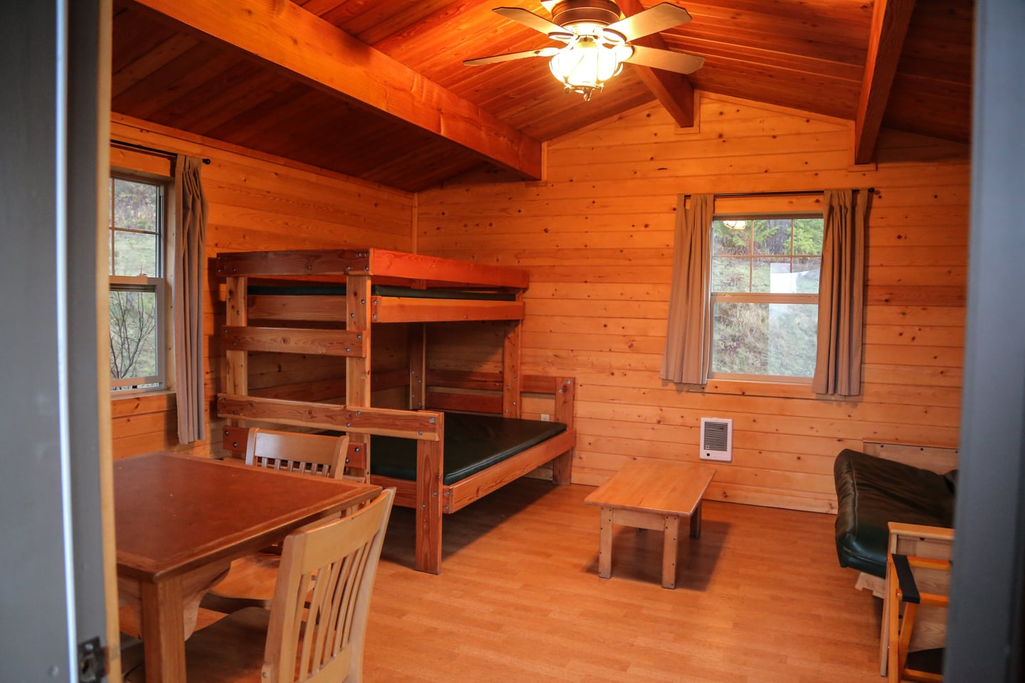 LL Stub Stewart State Park camping cabins