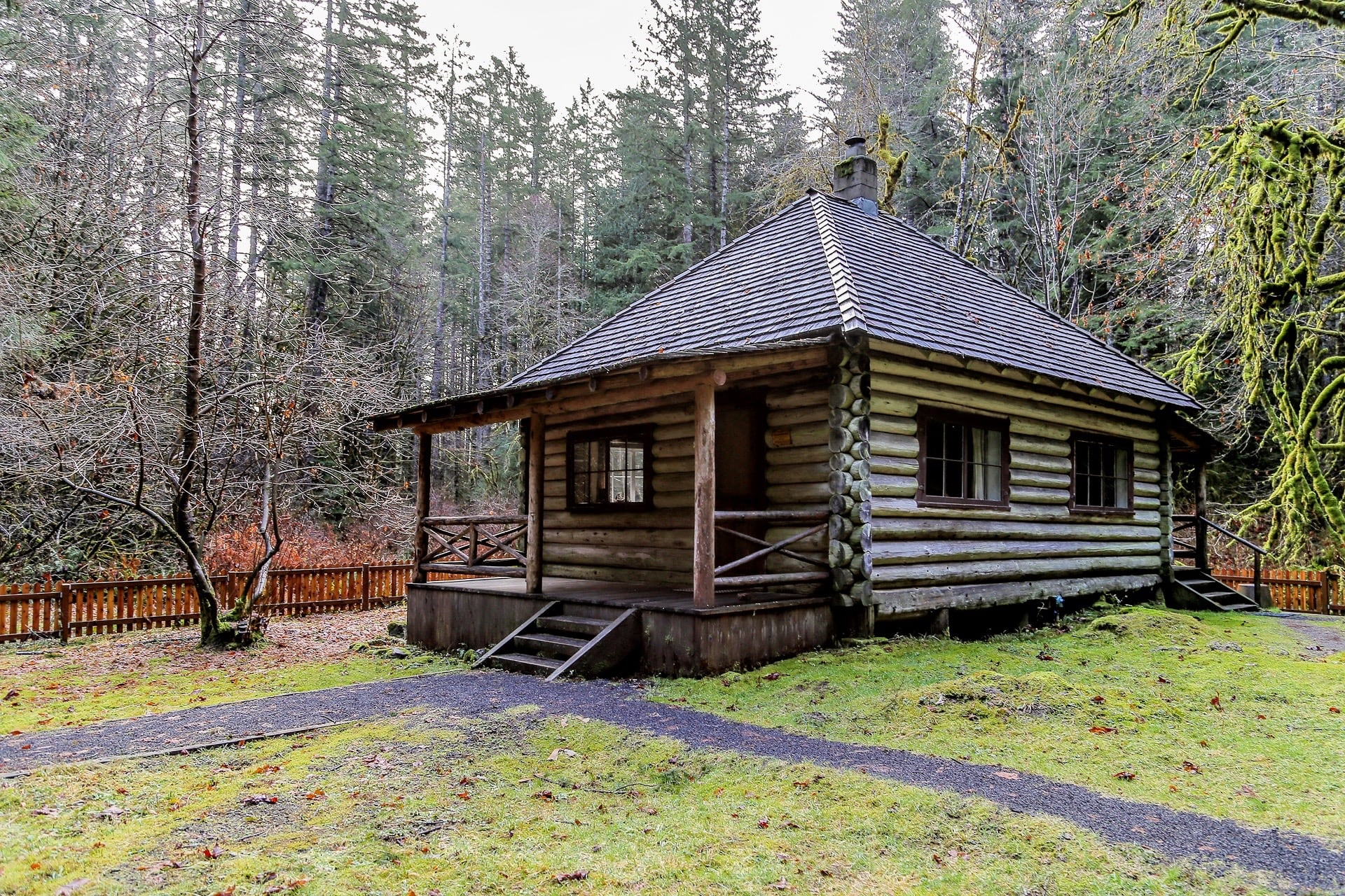interrorem cabin olympic national park