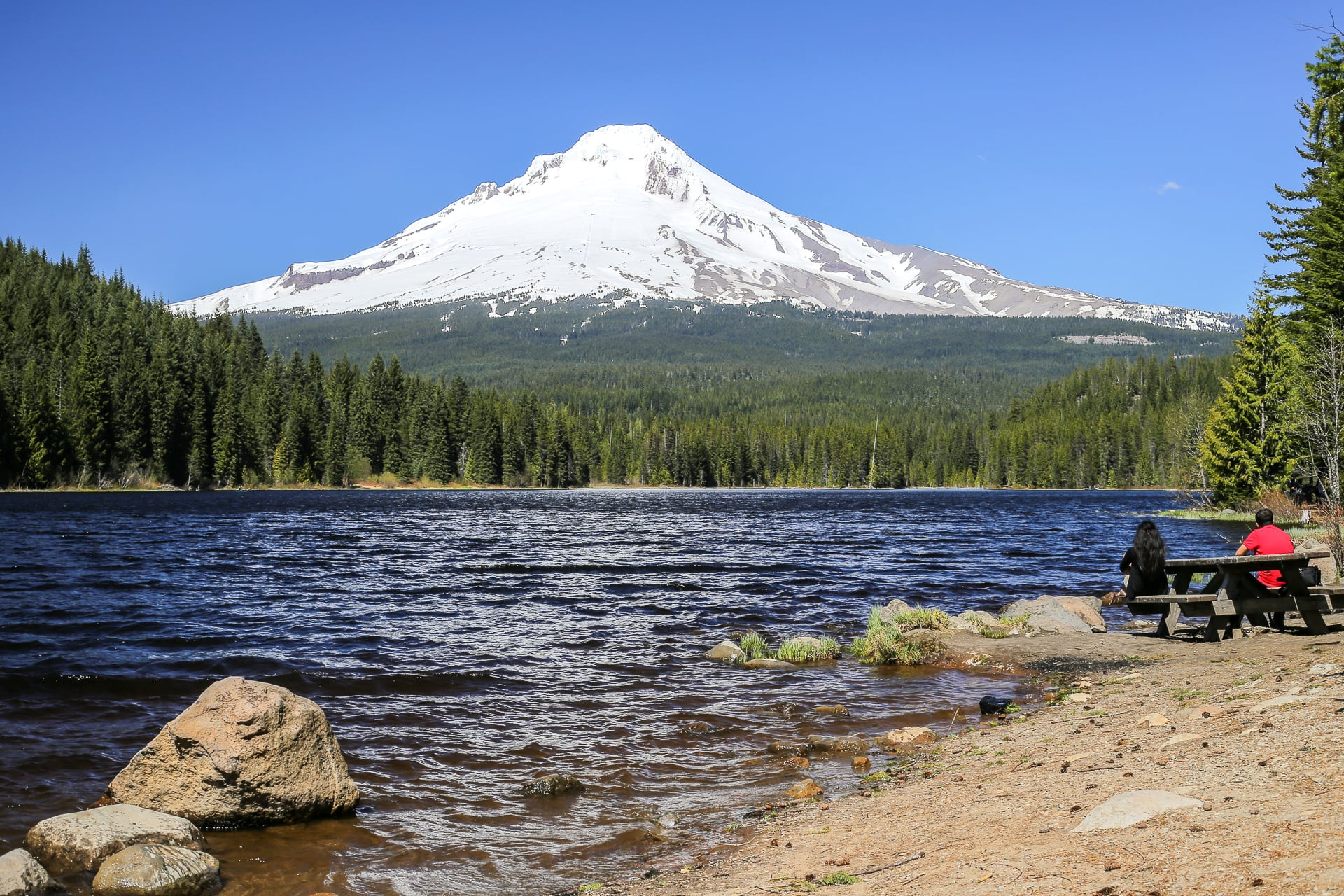 Mirror Lake & Trillium Lake: Hike Report