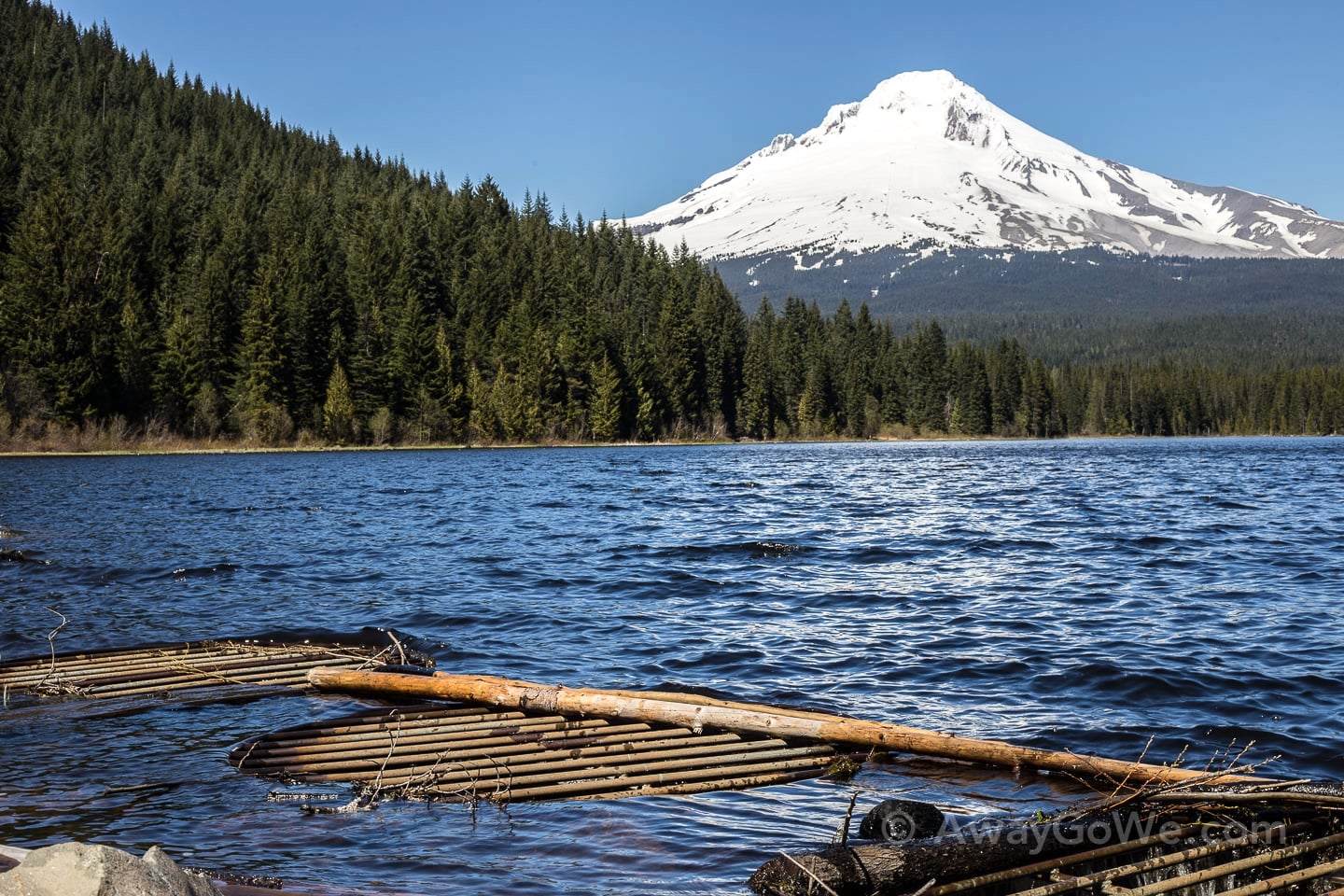 trillium lake hike trail oregon