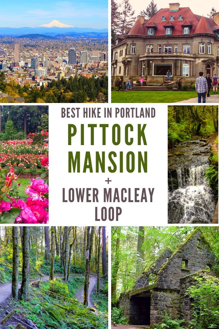 Pittock Mansion Hike Lower Macleay Trail Portland