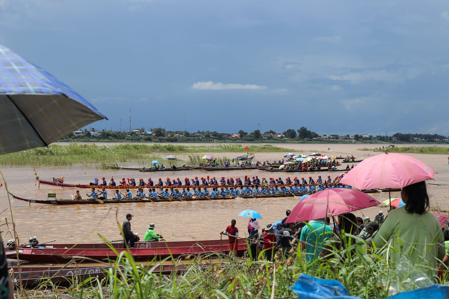 Laos Boat Racing Festival