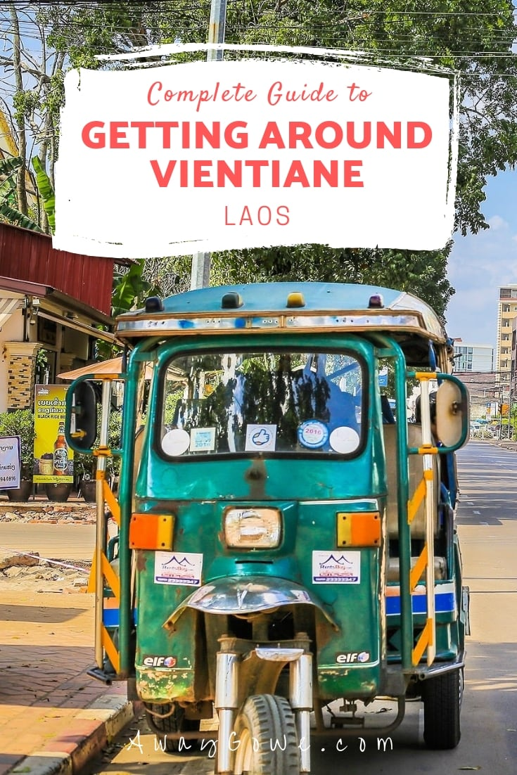 getting around vientiane