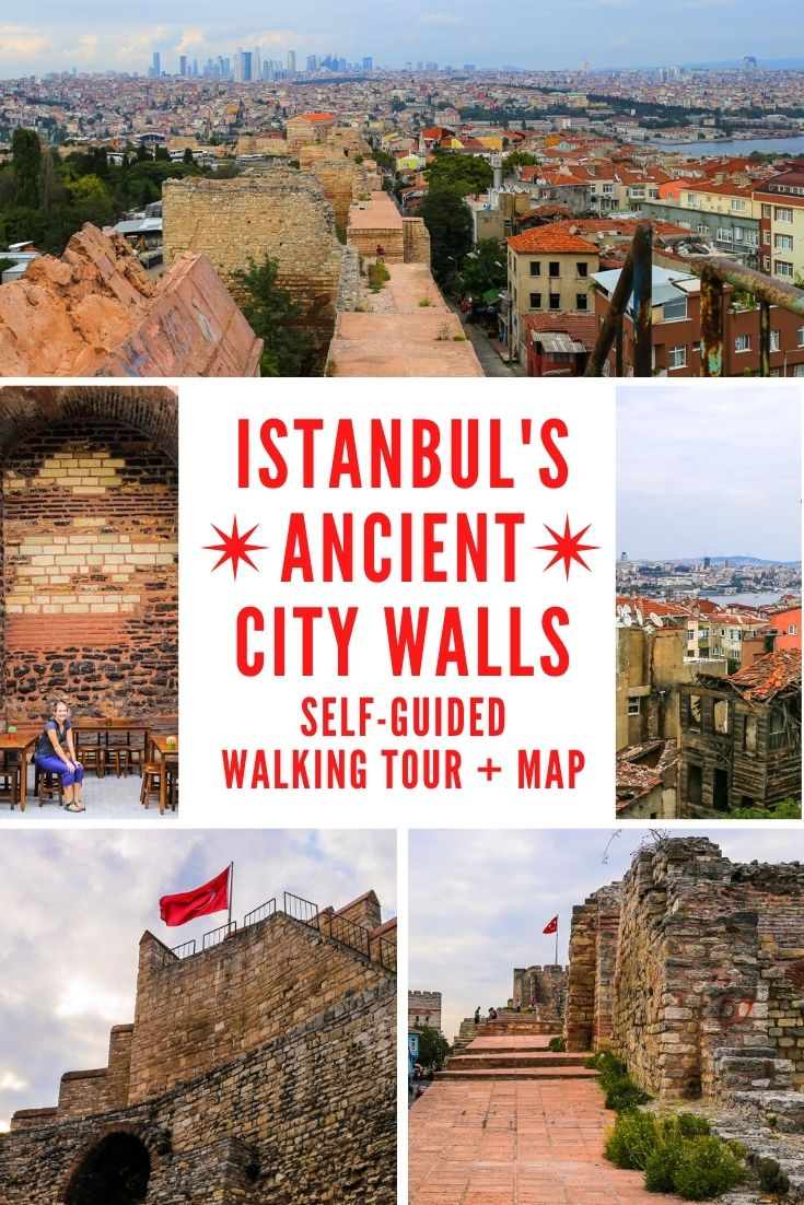 Istanbul City Walls of Constantinople pin