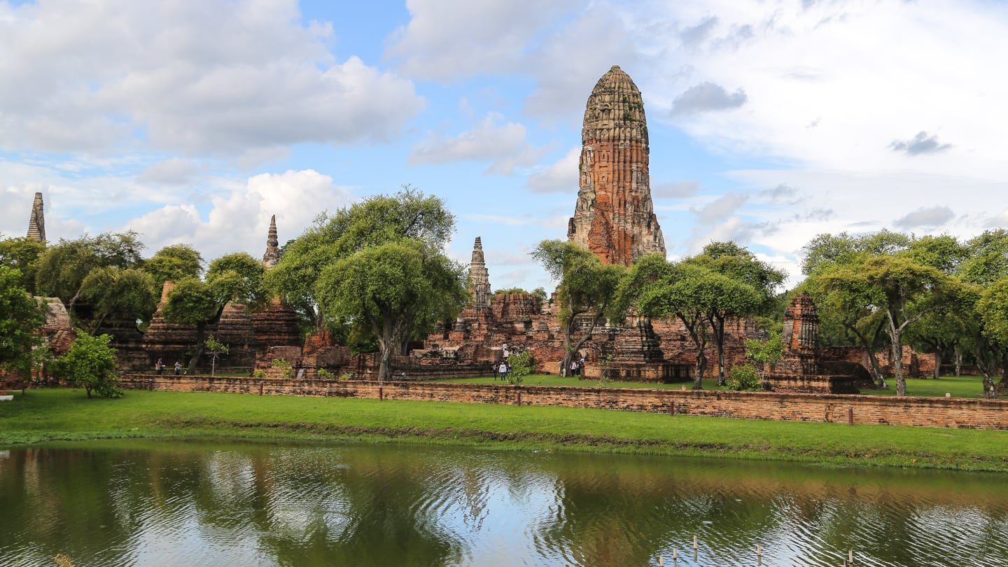 Ayutthaya DIY tour to UNESCO historical park thailand