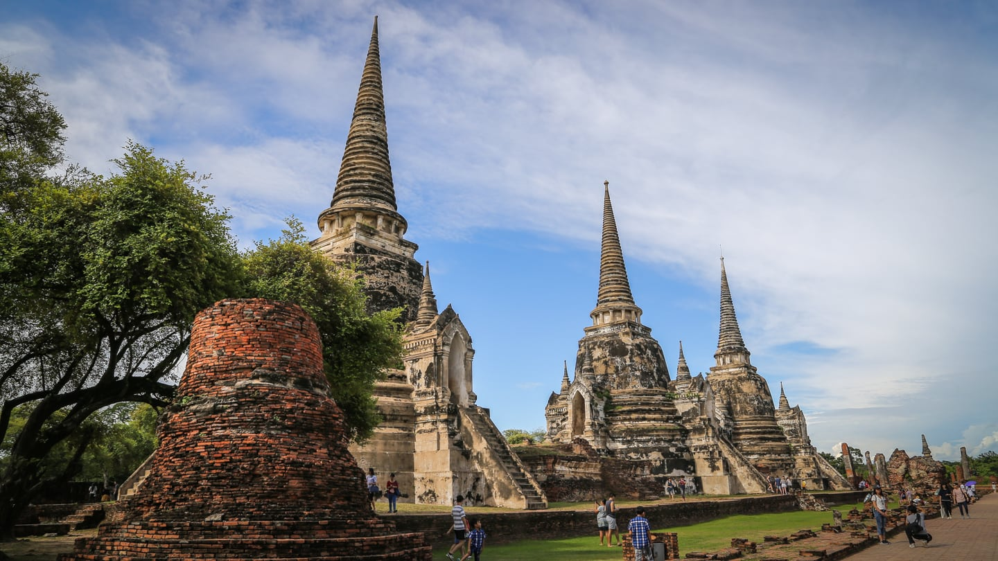 Ayutthaya day trip from Bangkok temples