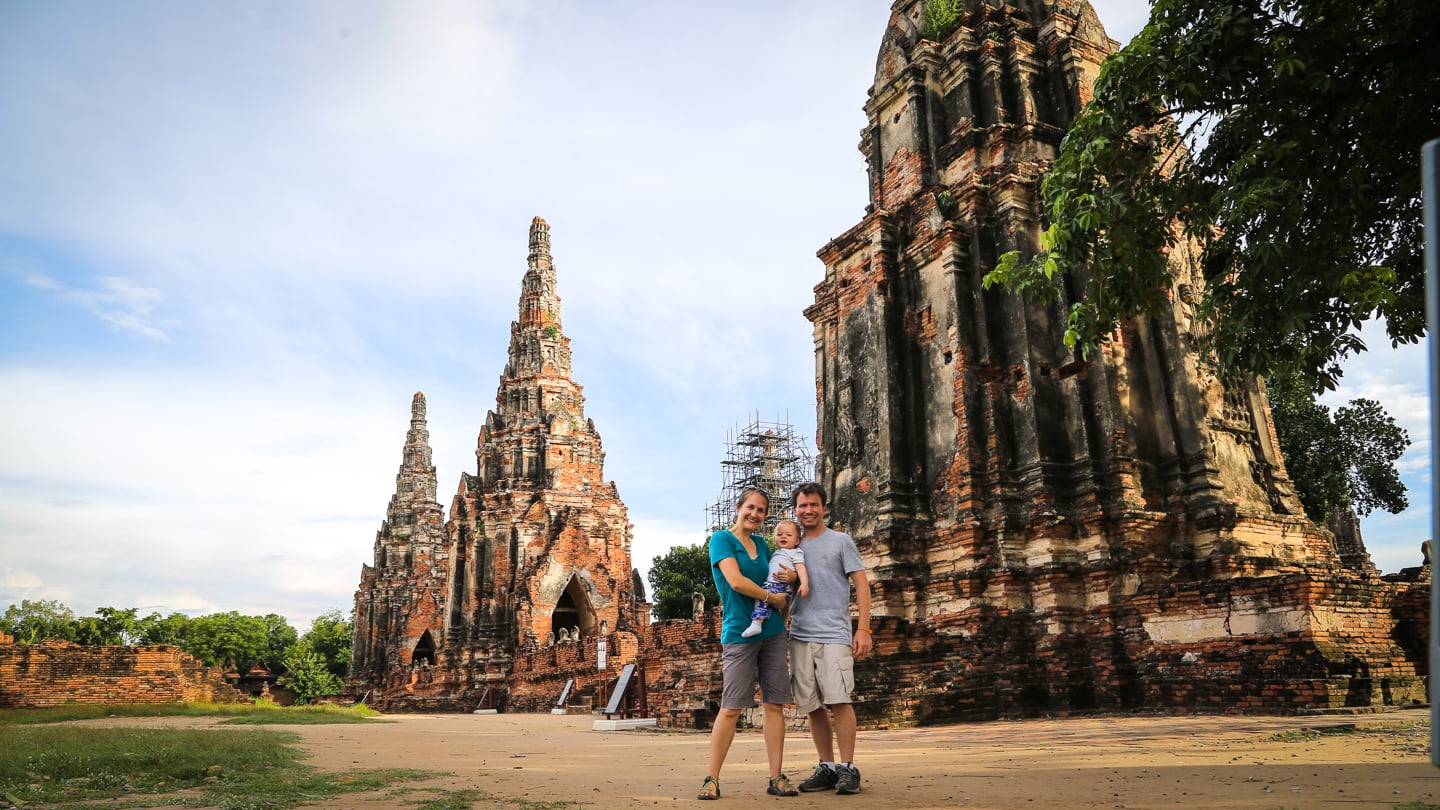 Ayutthaya DIY tour travel with kids