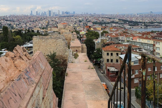 Visiting Istanbul's Ancient Walls of Constantinople
