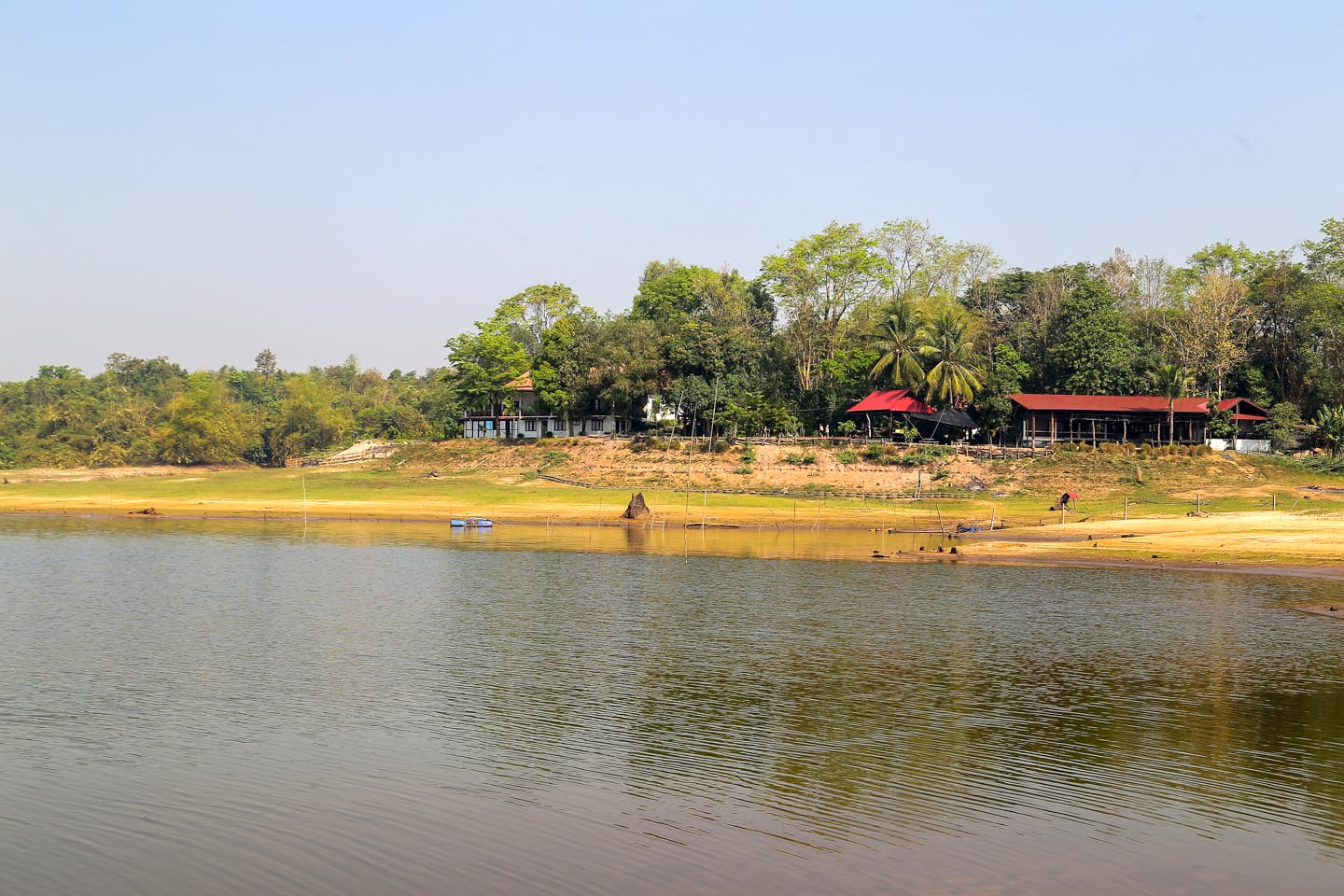 Lao Lake House on the Nam Houm Reservoir