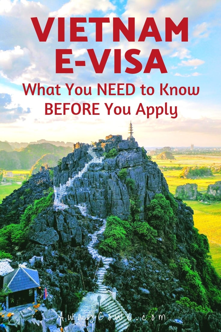 vietnam e-visa how to apply online