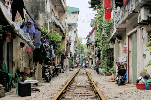 Crazy Train: Hanoi Train Street