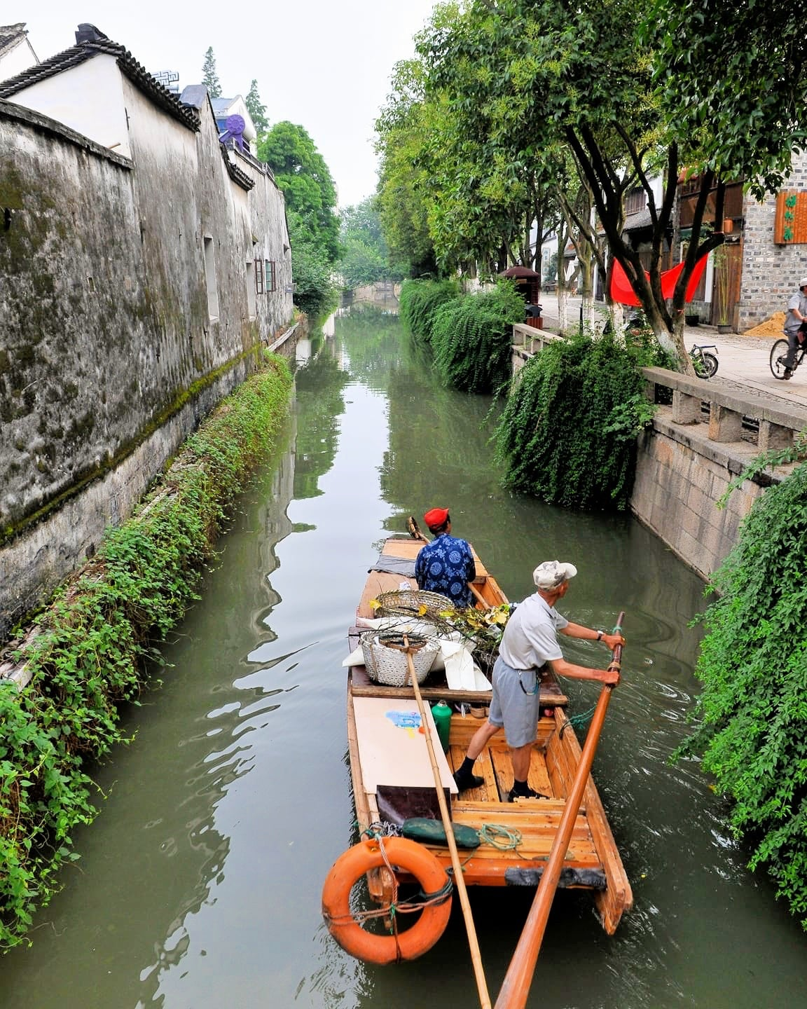 things to do in suzhou old town canal water town