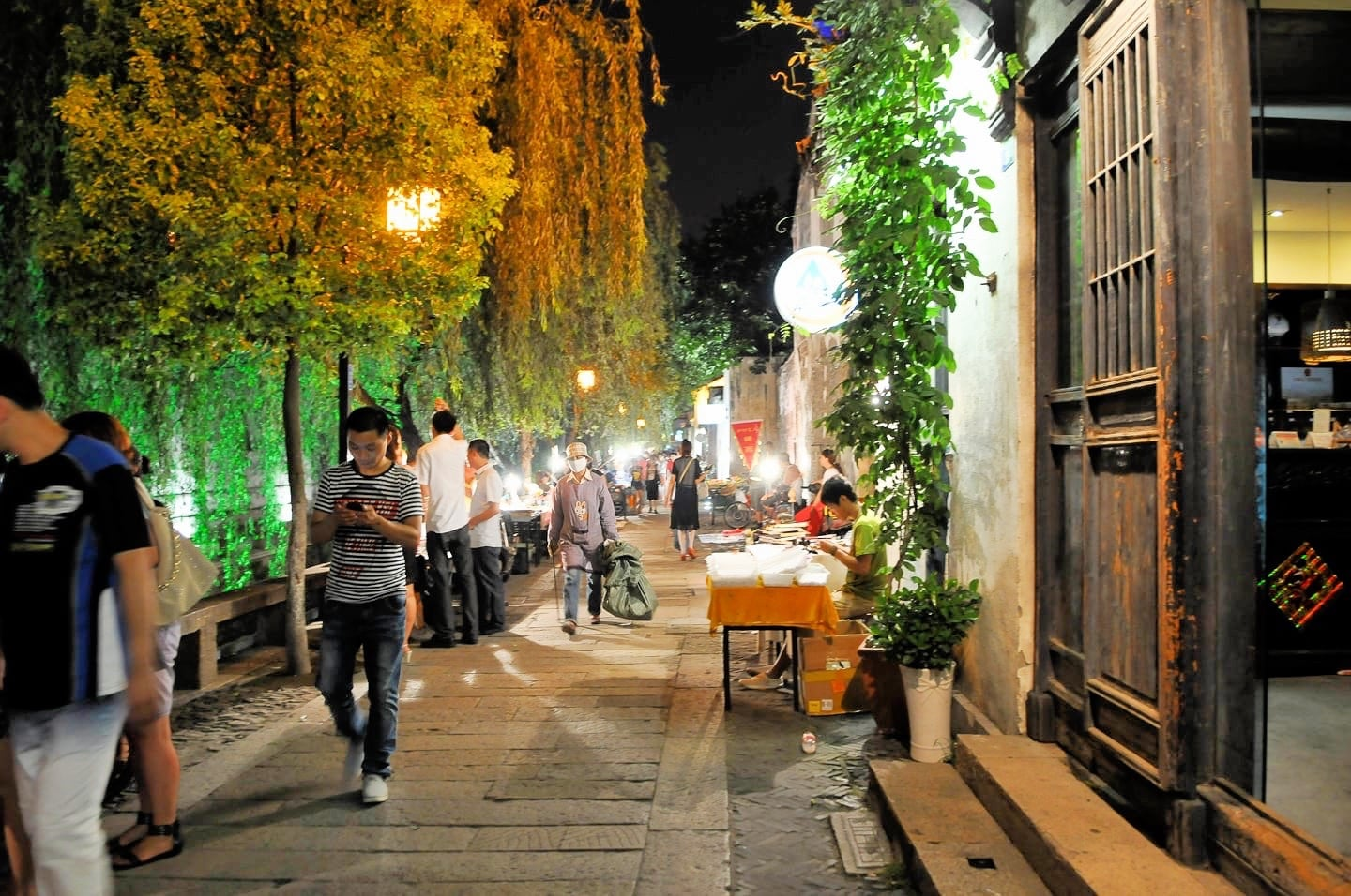 things to do in suzhou old town pingjiang night market