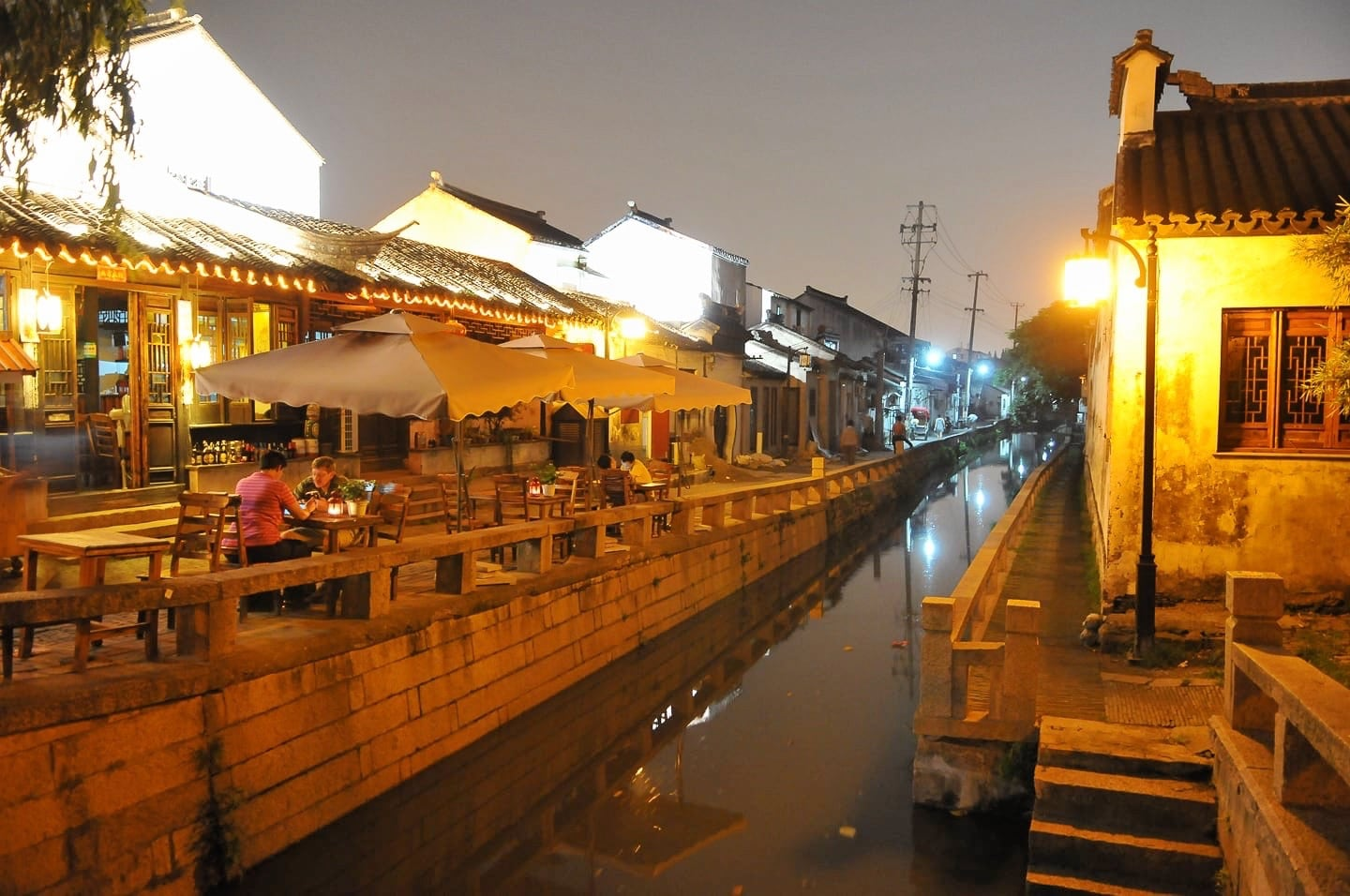 things to do in suzhou old town pingjiang canal night
