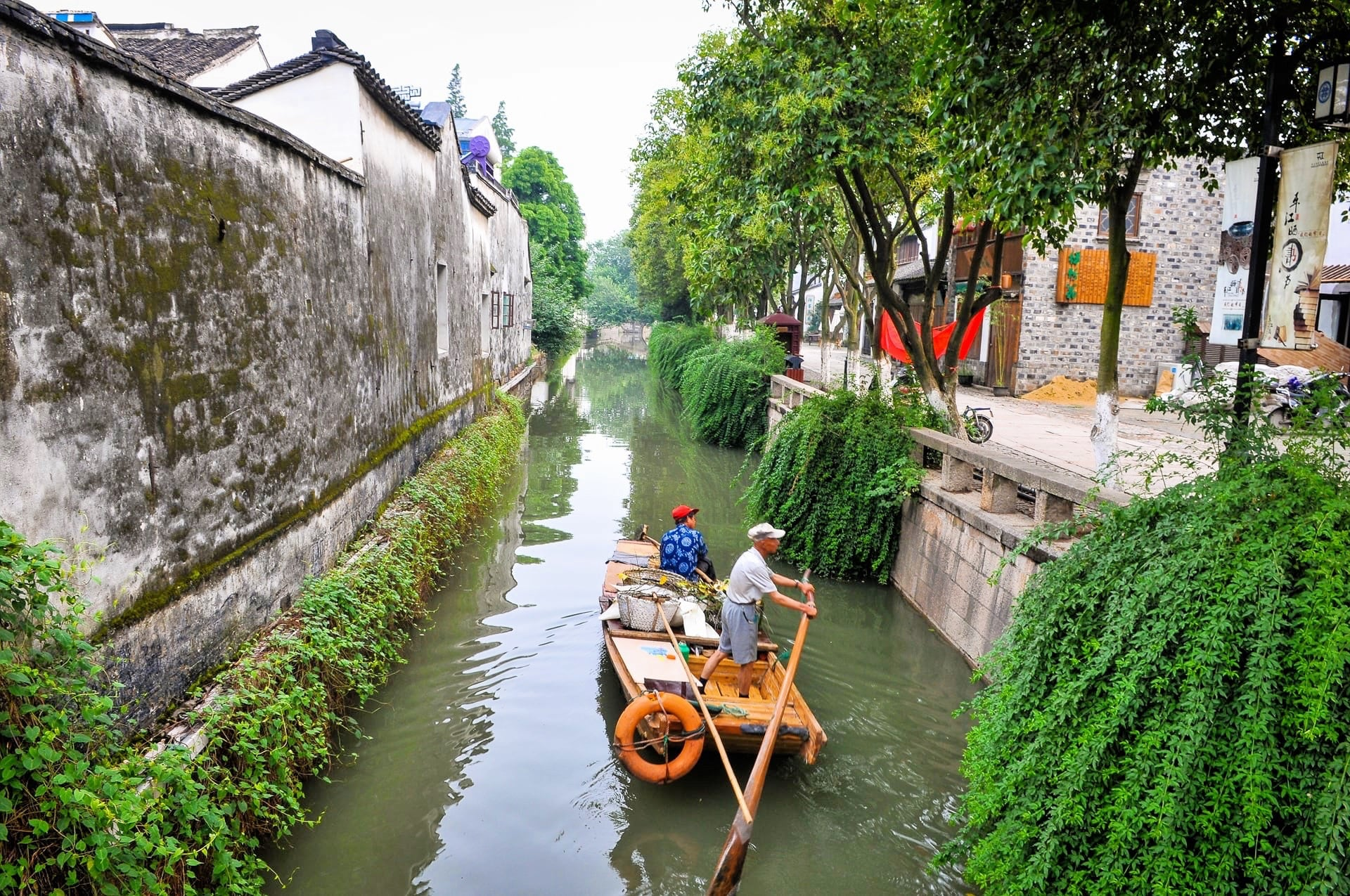 things to do in suzhou water town