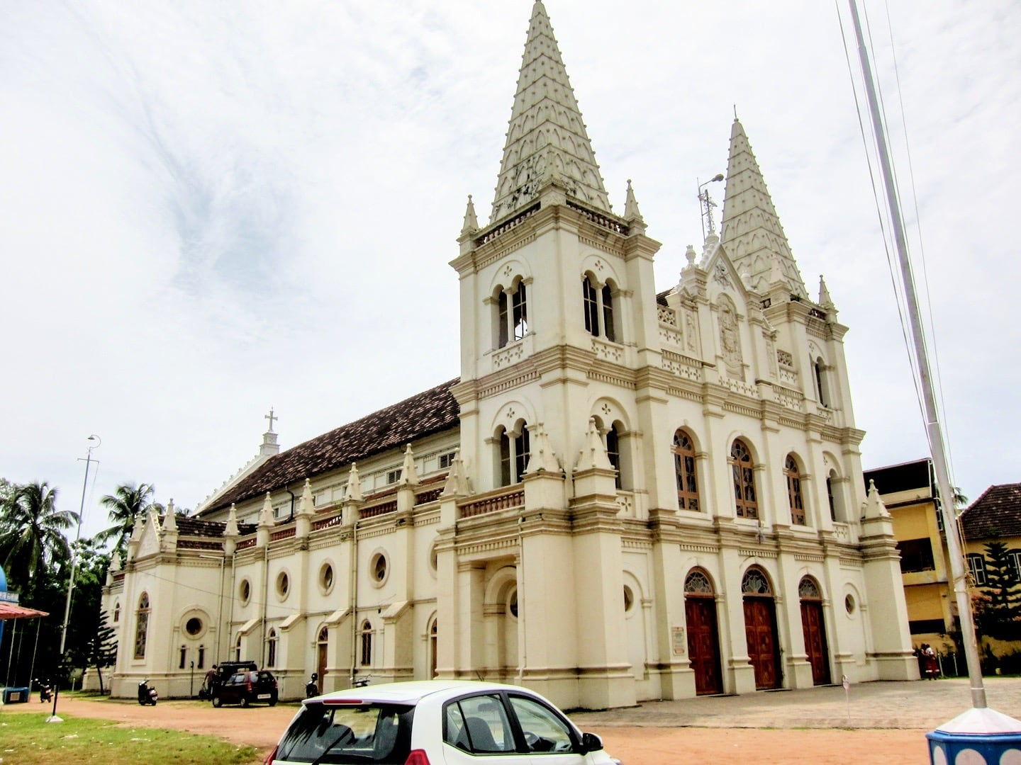 fort kochi places to visit santa cruz basilica