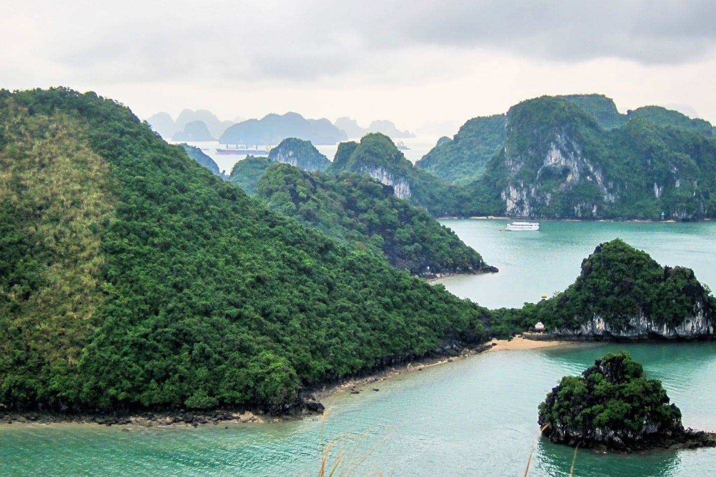 halong bay 3 day cruise viewpoint