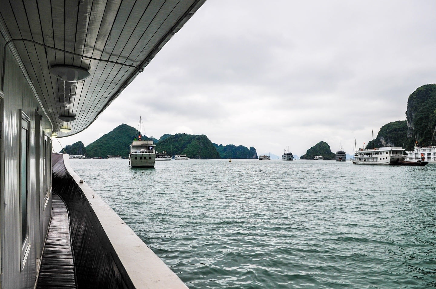calm seas halong bay 3 day cruise vietnam