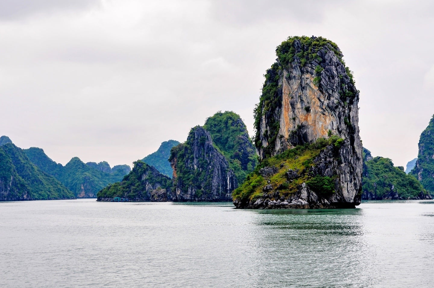 karst formation halong bay 3 day cruise vietnam