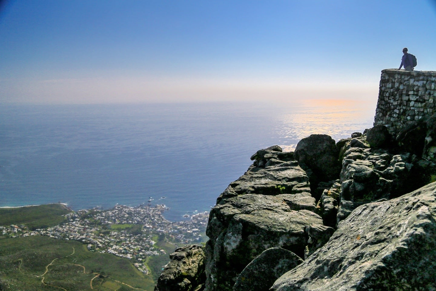 Table Mountain Atlantic Ocean Camp's Bay