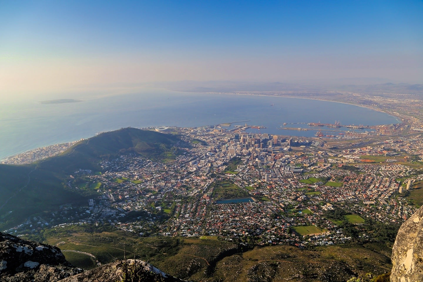 one week in cape town itinerary table mountain