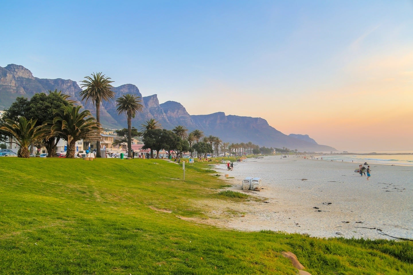 one week in cape town itinerary Camp's Bay