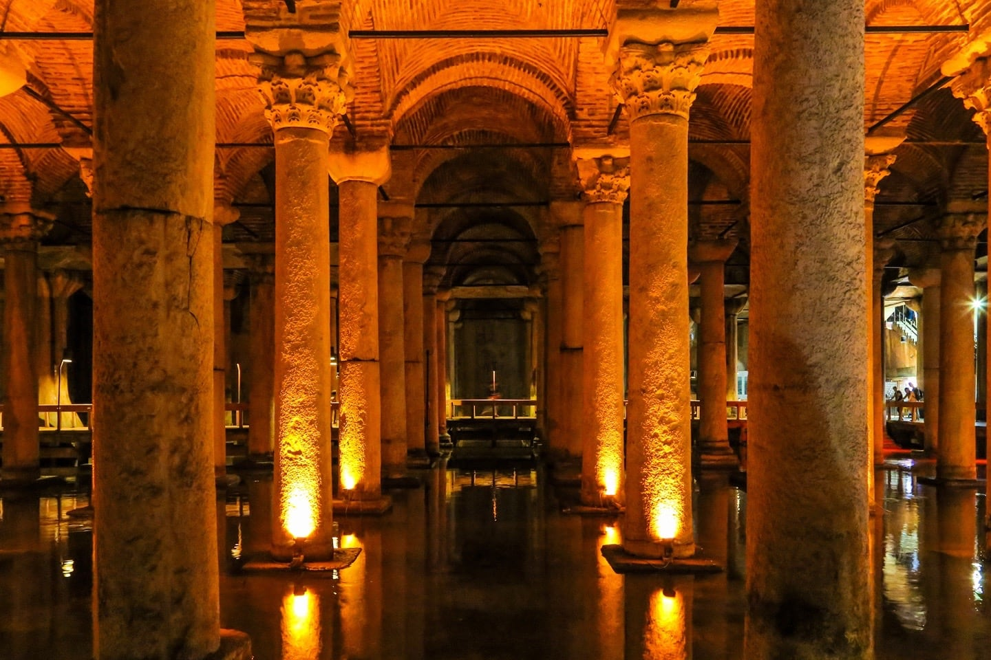 istanbul with kids basilica cistern