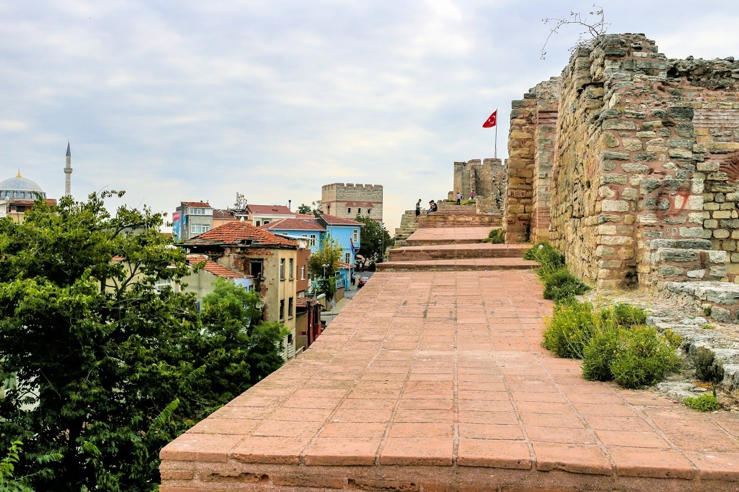 land walls things to do in istanbul with kids