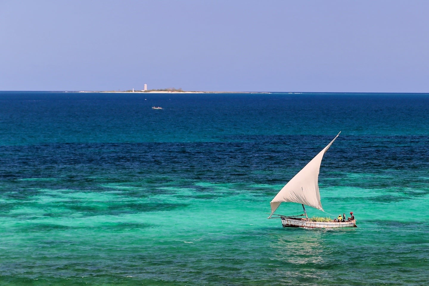 dhow on Ilha de Mocambique