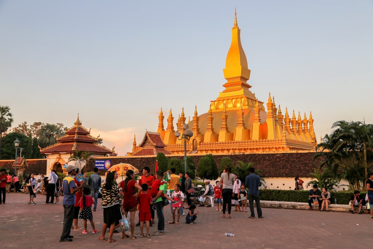 That Luang Festival in Laos