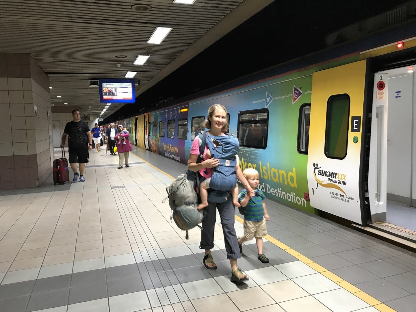 getting from kuala lumpur to george town by train