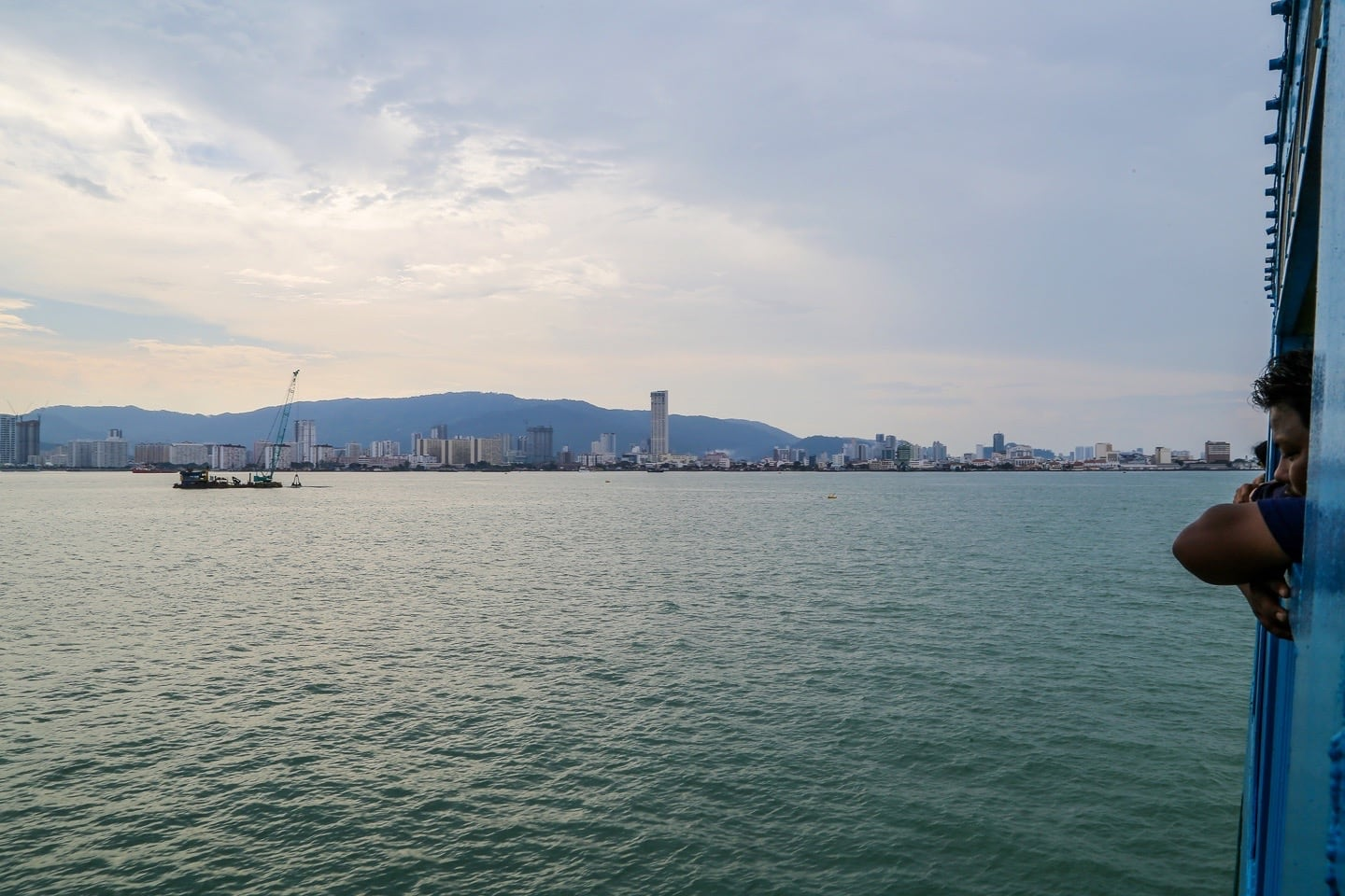 George Town Penang from Butterworth ferry