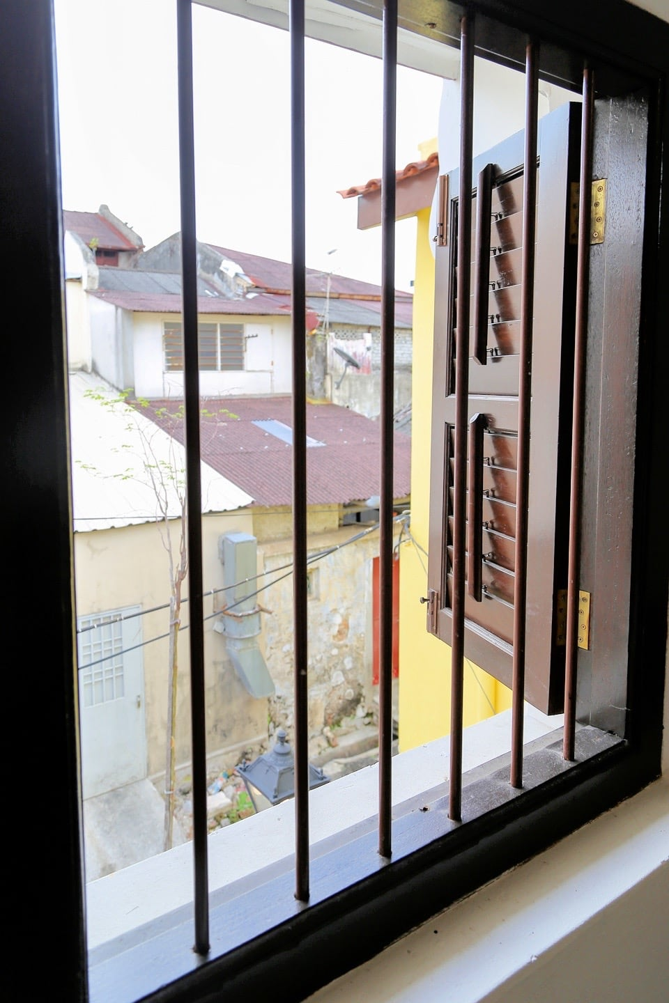 George Town Penang lodging Airbnb colonial row house