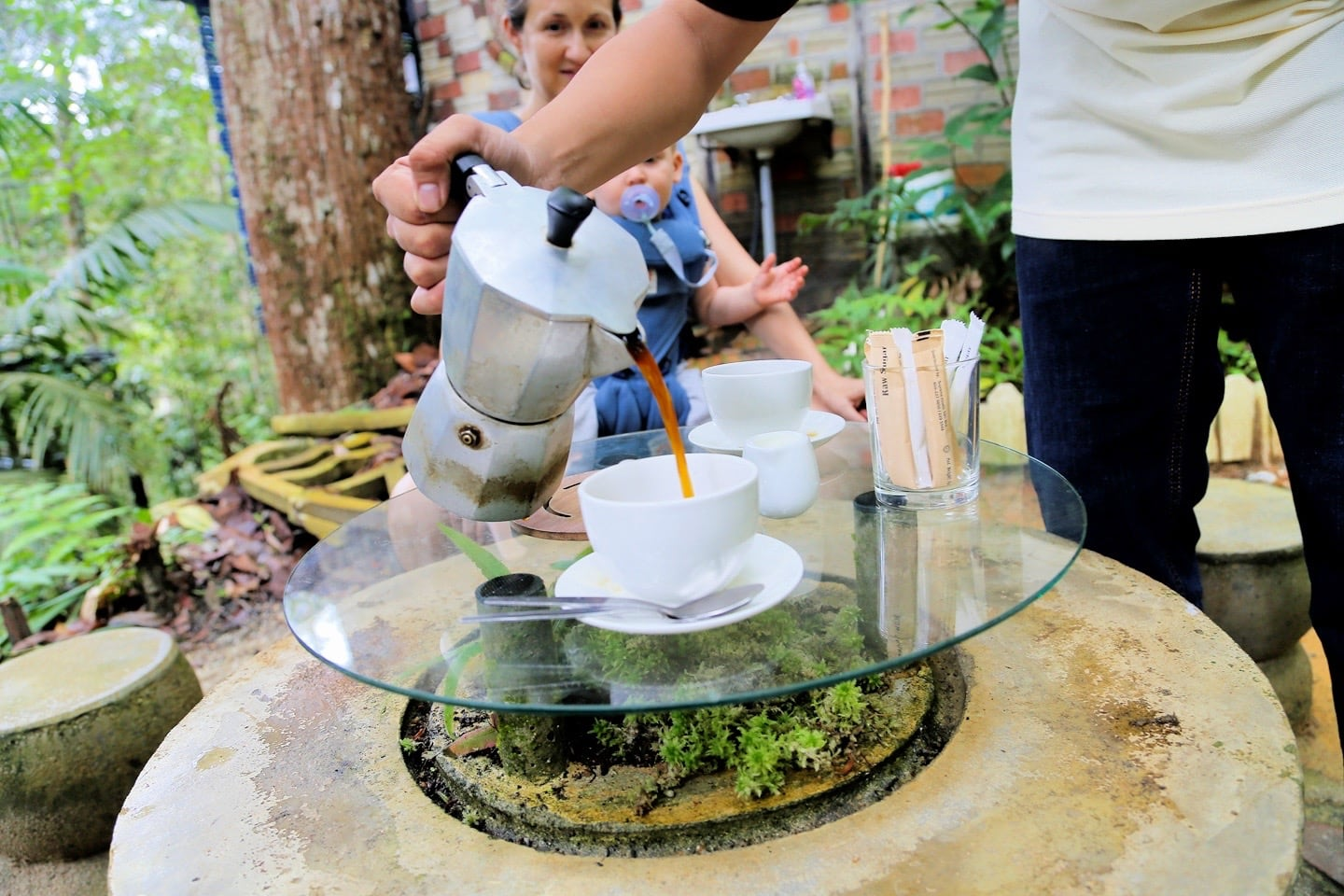 Monkey Cup Kopi Hutan coffee